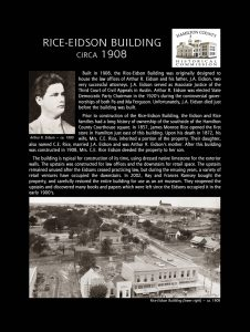 Rice-Eidson Building 3
